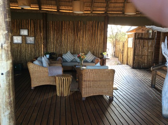 Klaserie Private Game Reserve, Sudafrica: Lodge sitting area