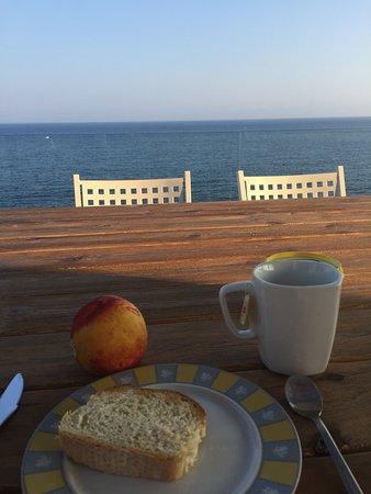 Akrotiri, Griekenland: Mon moment paisible, le matin...