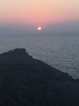 Akrotiri, Griekenland: Tous les soirs, de magnifiques coucher de soleil