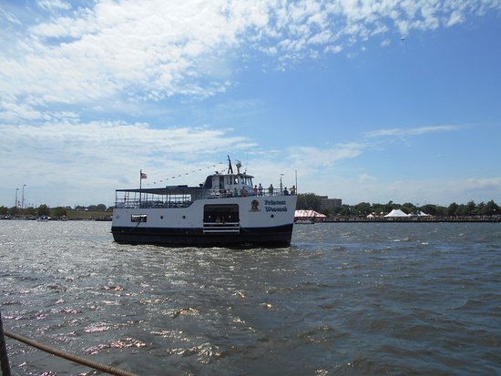 Bay City, MI: The Princess Wenonah takes visitors up and down the river along with be available for events.