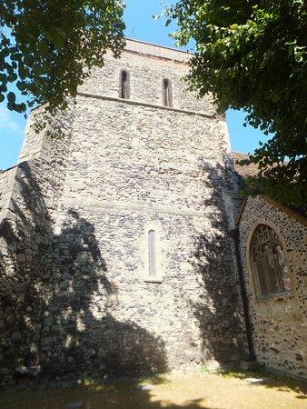 Rainham, UK: St. Helens and St. Giles's Church tower