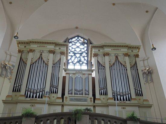 Brno, Czech Republic: organ inside