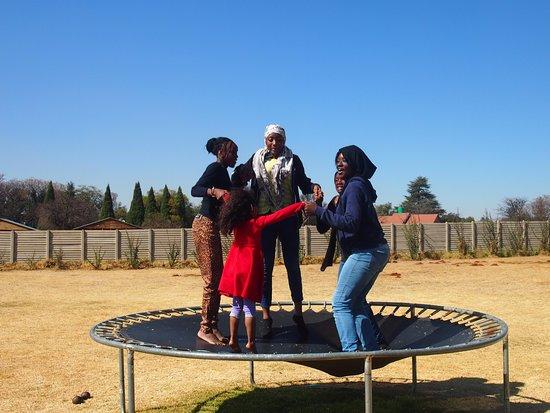 Kempton Park, Sudáfrica: My kids having fun in the play area