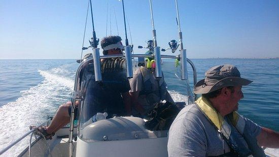 Bourgenay, France: Pêche sportive