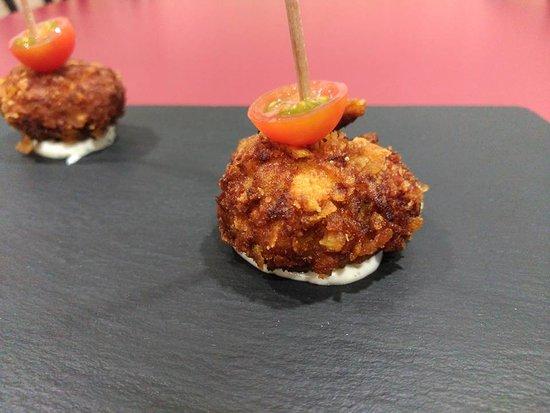 Pego, Spanyol: Croquetes de pato