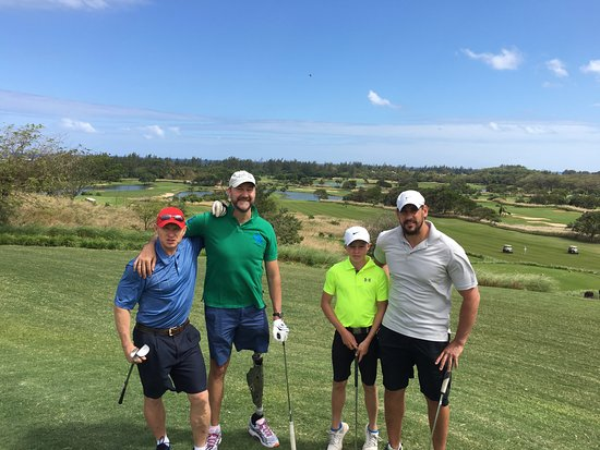 Heritage Golf Club: famous 4 ball!