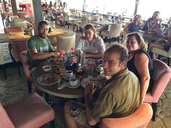 Plaza Resort Bonaire: Ontbijt