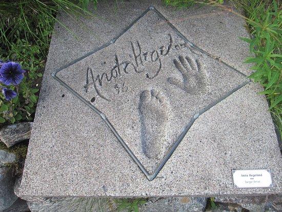 Senja, Noruega: Anita Hegerland har fått sin æresplass