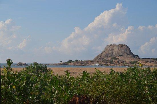 Tissamaharama, Sri Lanka: Pause déjeuné