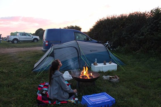 Goonhavern, UK: Campsite