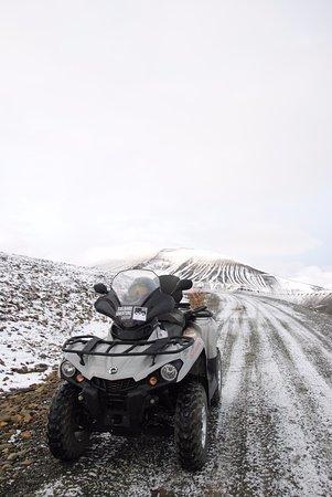 Longyearbyen, Noruega: Quad individuel ou duo