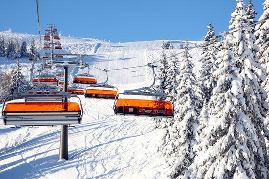 Flachau, Autriche : Skiegebiet