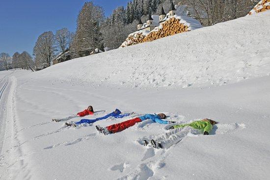 Flachau, Autriche : schneeengel1