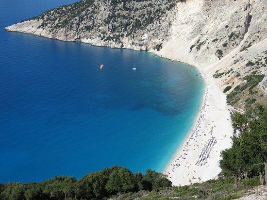 Παραλία Μύρτος: Myrtos dall'alto