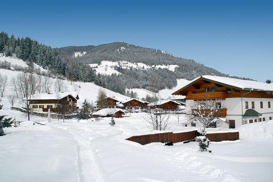 Flachau, Autriche : Ferienanlage im Winter