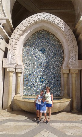 Hassan-II.-Moschee: fontana