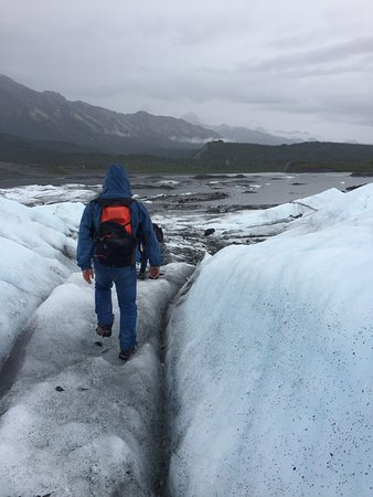 Planet Earth Adventures: You'll walk near deep and shallow crevasses