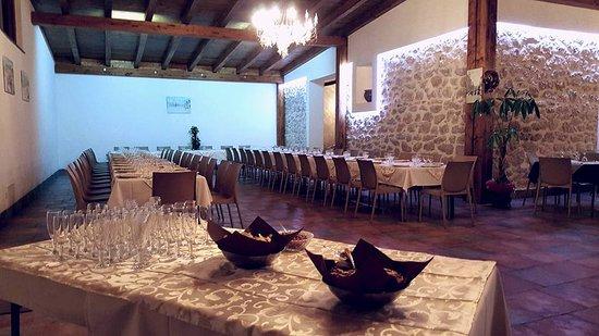 Raffadali, Italie : sala ricevimenti invernale