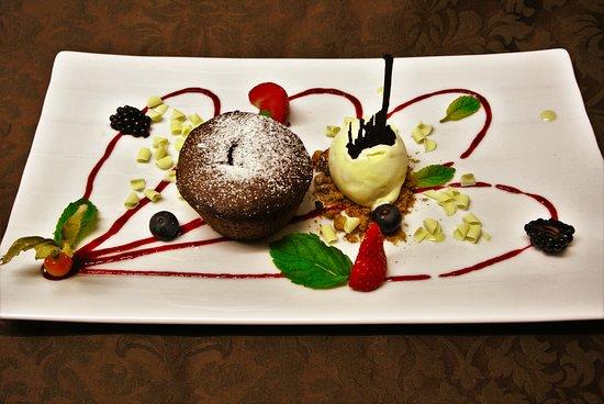 SooChic Restaurant & Lounge Bar: Tortino cuore morbido