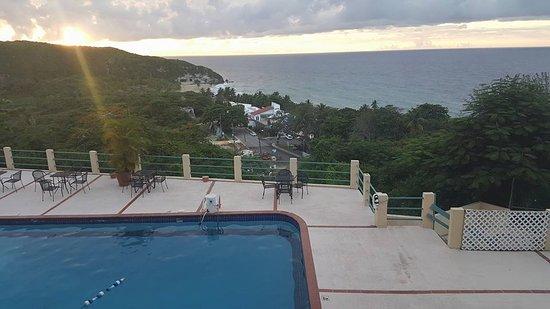 Parador Vistamar: view from 2nd floor