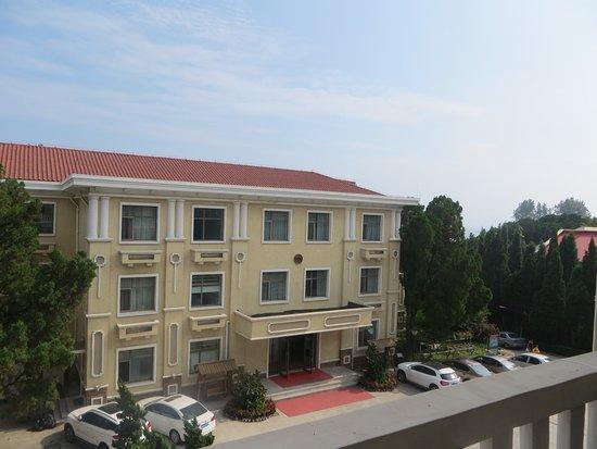 Qinhuangdao, Çin: Вид с балкона