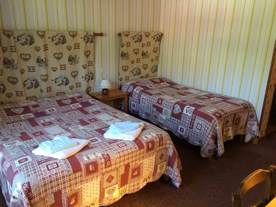 Taninges, France : Chambre triple
