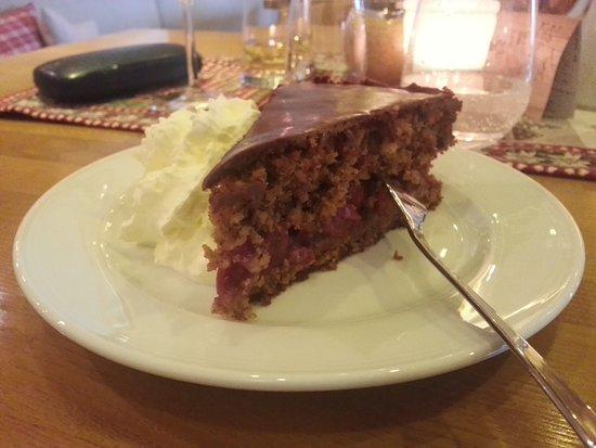 Kostlicher Schoko Nuss Kuchen Picture Of Maucher Hopfen Am See