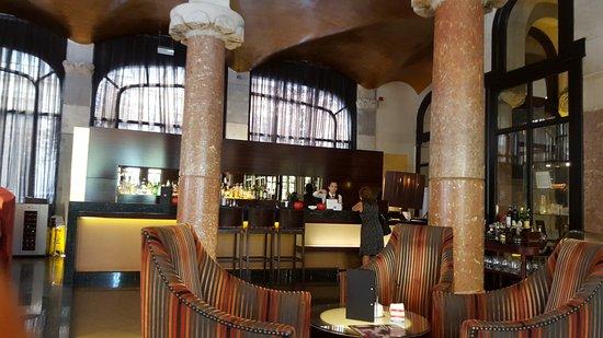 Casa Fuster Hotel: Salon cafeteria