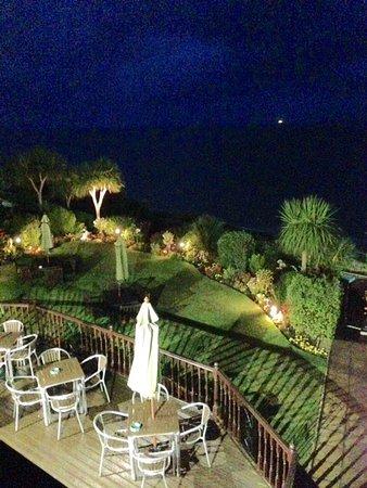 Carlton Hotel: Balcony sea view room