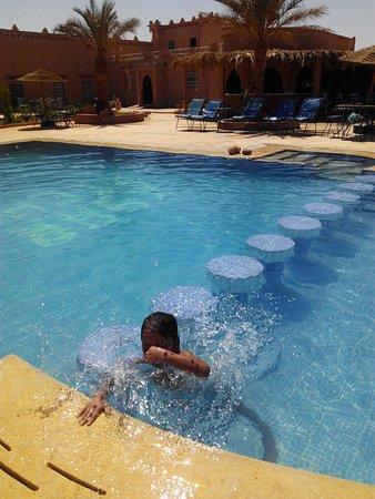 Ksar Bicha: swimming time