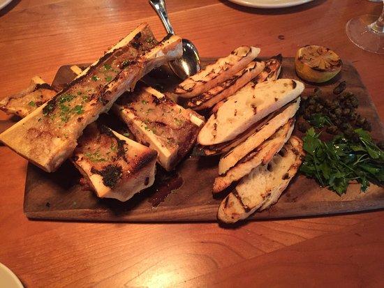 Leawood, KS: Bone marrow,pretzel bites, grilled oysters