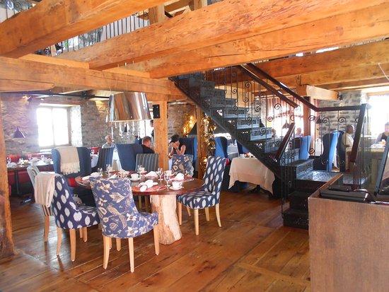 Auberge Saint-Antoine: Restaurant de l'hôtel : Le Panache