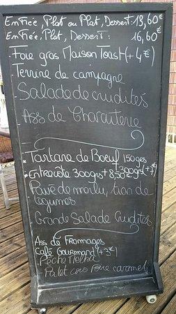Parcay-Meslay, Francia: Restaurant a Côté
