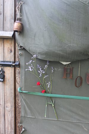 Northumberland National Park, UK: Nice touches at Houlet Yurt.