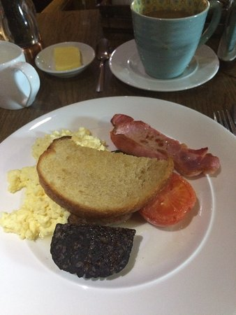 Sedbergh, UK: breakfast