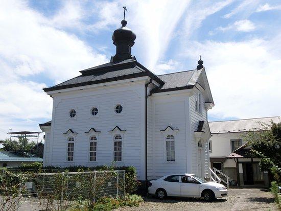 Shirakawa, Japan: とてもおしゃれな正教会の建物です