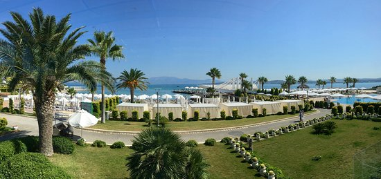 Ilica Hotel Spa & Wellness Resort: Panoramic view of the beach
