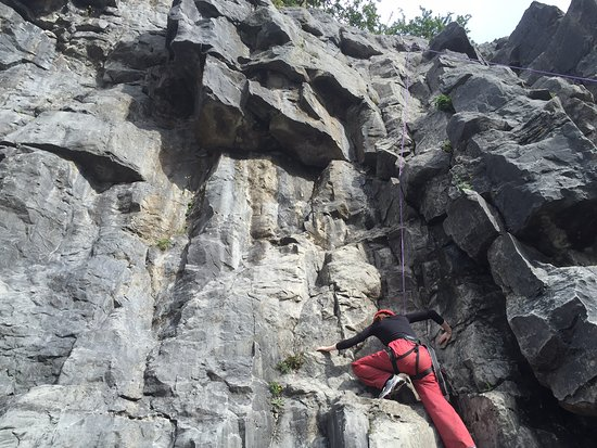 Merthyr Tydfil, UK: Parkwood Rock Climbing