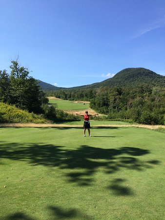 Jay, Vermont: Incroyable ce terrain-là!!