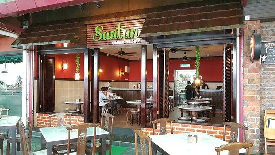 Santan kota kinabalu restaurant reviews phone number