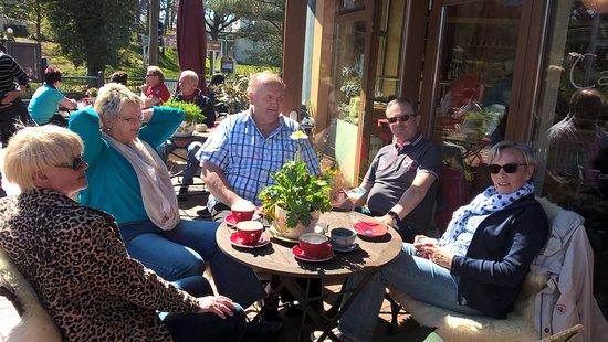Ostseebad Baabe, Germania: Auf der Terrasse