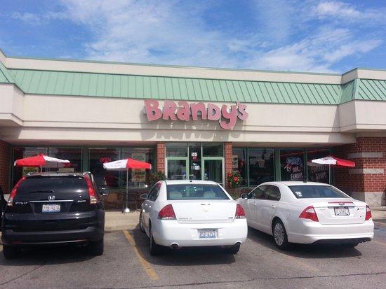 Des Plaines, IL: Entrance to Brandy's