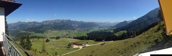 Walchsee, Austria: A felvonorol a kilatas