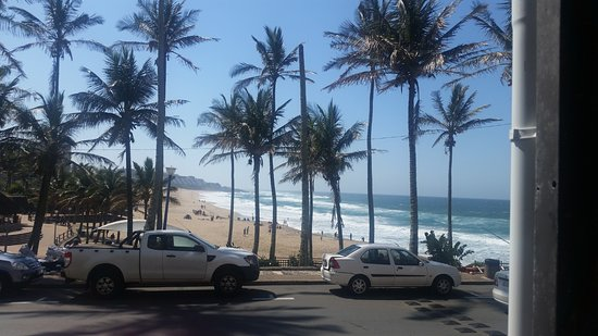 Margate, Sydafrika: This is one of the plenty views to the Lovely beach from the balcony