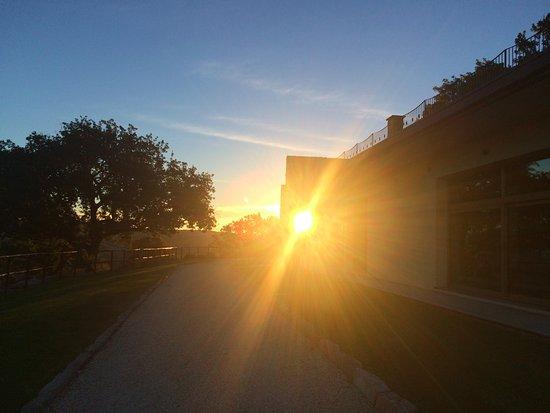 Scansano, Italien: восход