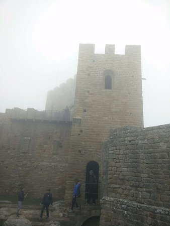 Aragón, España: Con niebla