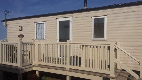 Driffield, UK: our caravan