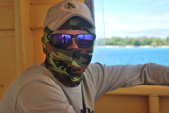 Utila, Honduras: Captain Jeff