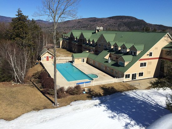 Newry, ME : great outdoor pool for apre's ski