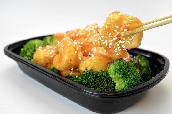 Snellville, Джорджия: Sesame Shrimp